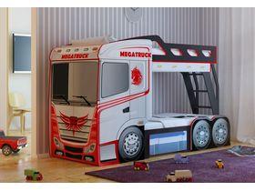 """Детская оригинальная  двухъярусная кровать """"Truck"""""""