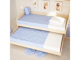 """Низкая детская двухъярусная кровать кровать """"Макс"""""""