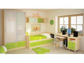 """Детская комната для подростков """"Макс (вариант 3)"""" с кроватью диваном"""