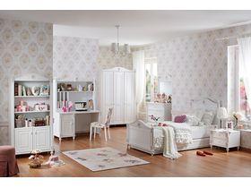 """Детская комната в светлой цветовой гамме для девочек """"Rose"""""""