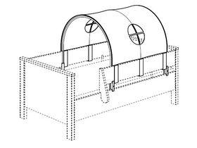 Крыша-палатка для детской кроватки