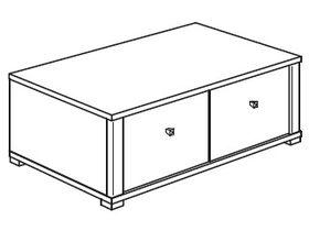 Нижний элемент (2 ящика)