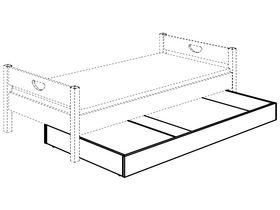 Ящик для белья – выдвижная кровать