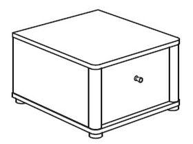 Нижний элемент (1 ящик)