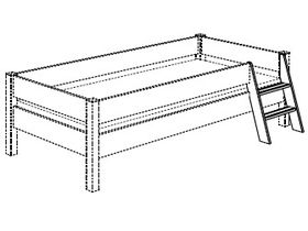 Лестница для подростковой кровати