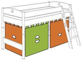 Занавес для игровой кровати высотой 125 (комплект)