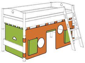 Стена с воротами для игровой кровати