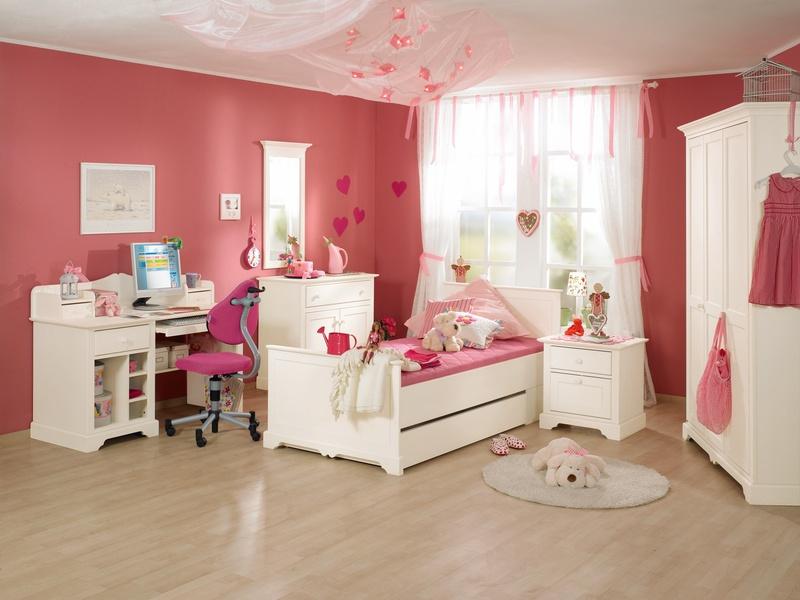 """Детская комната для девочек подростков """"Sylvie"""" в белом цвете"""