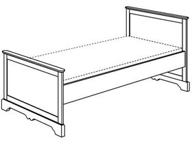 """Кровать """"Sylvie"""""""