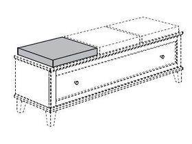 Подушка-сиденье для тумбы