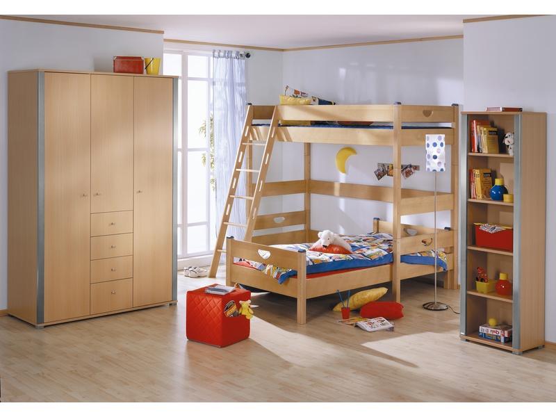 """Мебель в детскую комнату """"Varietta"""" из массива бука с кроватями чердаками"""