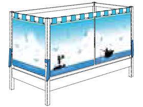 "Балдахин ""Океан"" низкий для кровати 90*200 см"