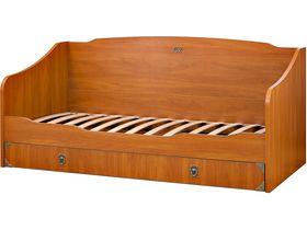 Диван-кровать под матрас 80*190 см с тумбой для белья №35169