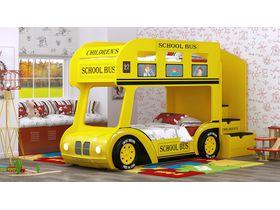 """Двухъярусная кровать """"3D Автобус Школьный Престиж"""""""