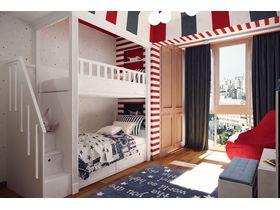 """Подростковая комната двох детей """"Цирк"""""""