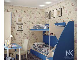 """Мебель в комнату для двоих подростков """"Лазурный берег"""""""