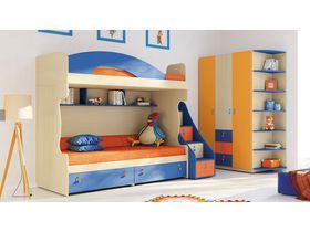 """Детская комната для двоих детей """"МИА"""" (Комбинация 2)"""