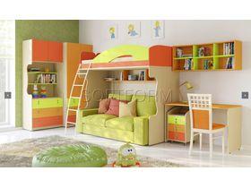 """Детская комната для двоих детей """"МИА"""" (Комбинация 4)"""