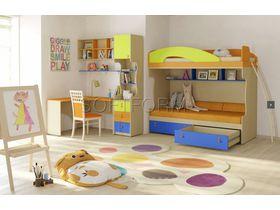"""Детская комната для двоих детей """"МИА"""" (Комбинация 6)"""