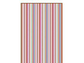 Покрывало с разноцветными полосами