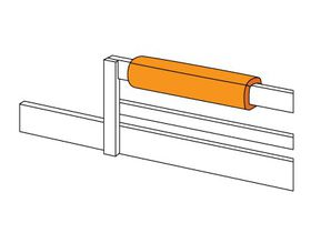 Валик на царгу кровати (Валик-бампер)