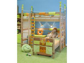 """Детская двухъярусная кровать """"Робинзон"""" из массива бука"""