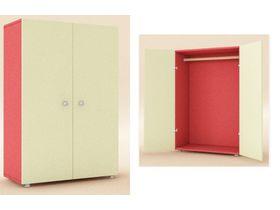 Шкаф 2-х дверный со штангой