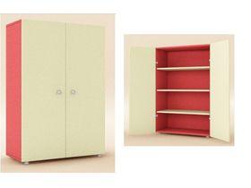 Шкаф 2-х дверный с полками