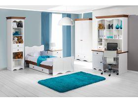 """Мебель для детской комнаты """"Принцесса"""" из массива в комбинированном цвете"""