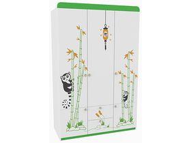 """Детский трехдверный шкаф из коллекции """"Азия"""""""