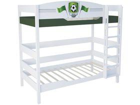 """Детская двухъярусная кровать в детскую 180 см """"Футбол"""""""
