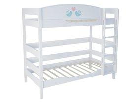 """Двухъярусная кровать в детскую 180 см """"Кошки"""""""
