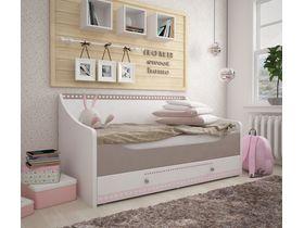 """Детская кровать-диван для девочек из коллекции """"Mon coure"""" в нескольких размерах"""