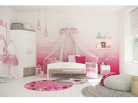 """Комната для девочки с кроватью из массива бука """"Mon coure"""""""