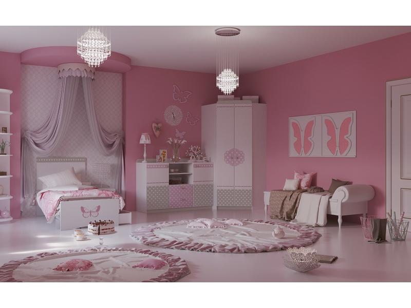 """Спальня для девочки """"Mon coure"""""""