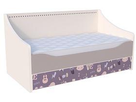 """Детская кровать-диван для девочек """"Париж"""" в нескольких размерах"""