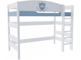 """Кровать чердак из массива бука в детскую на высоту 160 см из коллекции """"Шато"""""""