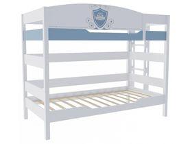 """Двухъярусная кровать 160 см в детскую комнату из массива бука """"Шато"""""""