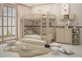 """Детская комната для двух девочек """"Capri"""" c двухъярусной кроватью"""