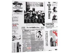 Накладка тканевая для фасада - NEWSPAPER
