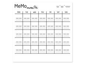 Накладка для фасада - Memo month