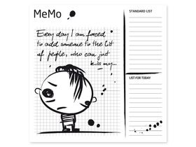 Накладка для фасада - Memo boy