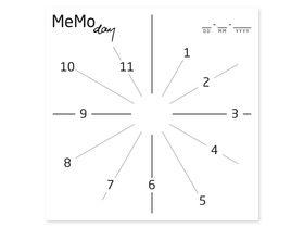 Накладка для фасада - Memo day