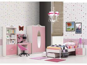 """Детская комната для девочек """"BOUQET"""" с несколькими видами кроватей"""