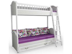 Кровать 2-х ярусная с лесенкой и ящиком