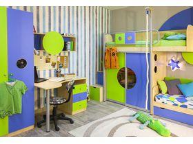 """Детская спальня в нескольких цветовых решениях """"Выше радуги"""""""