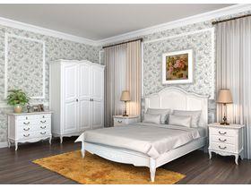 """Спальня в стиле """"Прованс"""" в белом цвете"""