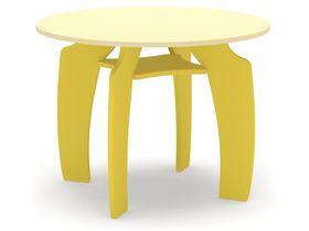 """Детский столик """"Тип-Топ"""" в желтом цвете"""