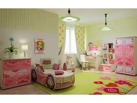 """Детская мебель в комнату девочки """"Цветок"""""""