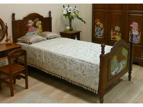 """Кровать детская """"Любимая сказка, Французские мотивы"""""""
